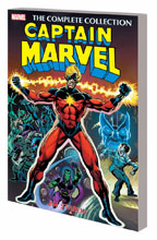 Image: Captain Marvel by Jim Starlin: The Complete Collection SC  - Marvel Comics