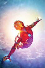 Image: Invincible Iron Man by Caselli Poster  - Marvel Comics