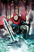 Image: Unworthy Thor by Coipel Poster  - Marvel Comics