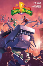 Image: Mighty Morphin Power Rangers #8 - Boom! Studios