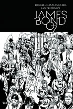 Image: James Bond: Hammerhead #1 (Hack b&w incentive cover - 01041) (10-copy)  [2016] - Dynamite