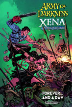 Image: Army of Darkness Xena: Warrior Princess Forever ... and a Day #1 (cover A - Brown)  [2016] - Dynamite