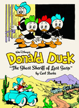 Image: Walt Disney's Donald Duck: The Ghost Sheriff of Last Gasp HC  - Fantagraphics Books