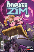 Image: Invader Zim #14 - Oni Press Inc.