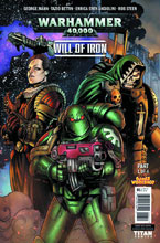 Image: Warhammer 40,000: Will of Iron #1 (cover A - Bettin)  [2016] - Titan Comics