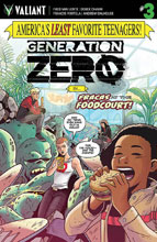 Image: Generation Zero #3 (Charm incentive cover - 00331) (10-copy) - Valiant Entertainment LLC