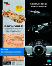 Image: Incredibuilds: Batmobile Signature Series Model and Book  - Insight Editions