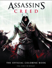 Image: Assassin's Creed Official Coloring Book SC  - Insight Editions