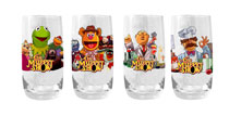 Image: Muppets Tumbler Glass: Bunsen Honeydew & Beaker  - Diamond Select Toys LLC