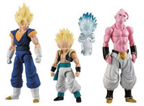 Image: Dragonball Z Shodo 3 Dragon Ball Super Trading Figure 6-Piece Assortment  - Bandai Shokugan