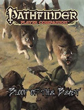 Image: Pathfinder Player Companion: Blood of the Beast  - Paizo, Inc
