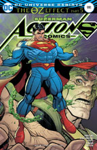 Image: Action Comics #991 (Oz Effect) (Lenticular cover - Nick Bradshaw)  [2017] - DC Comics