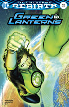 Image: Green Lanterns #32 (variant cover - Brandon Peterson) - DC Comics