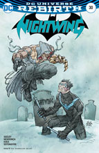 Image: Nightwing #30 (variant cover - Casey Jones) - DC Comics