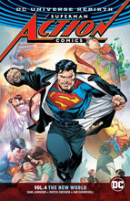 Image: Superman: Action Comics Vol. 04 - The New World SC  - DC Comics