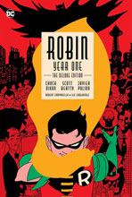 Image: Robin: Year One - The Deluxe Edition HC  - DC Comics