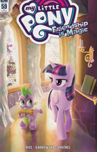 Image: My Little Pony: Friendship Is Magic #59 (incentive cover - Thom Zahler) (10-copy)  [2017] - IDW Publishing