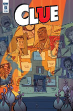 Image: Clue #5 (cover A - Sommariva) - IDW Publishing