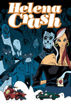 Image: Helena Crash: Fueled by Coffee SC  - IDW Publishing