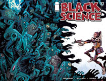 Image: Black Science #32 (cover C - Walking Dead #5 Tribute) - Image Comics