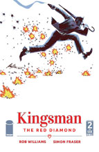 Image: Kingsman: The Red Diamond #2 (cover A)  [2017] - Image Comics