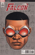 Image: Falcon #1 (McKone Legacy Headshot variant cover - 00151)  [2017] - Marvel Comics