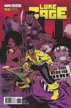 Image: Luke Cage #166 (Legacy) (variant cover - Greene Connecting) - Marvel Comics