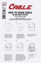 Image: Cable #150 (Legacy) (variant cover - Zdarsky How to Draw)  [2017] - Marvel Comics