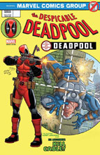 Image: Despicable Deadpool #287 (Legacy) (variant cover - Espin Legacy Headshot) - Marvel Comics