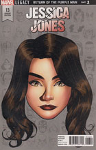 Image: Jessica Jones #13 (McKone Legacy Headshot variant cover - 01341) - Marvel Comics