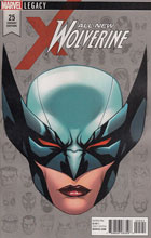 Image: All-New Wolverine #25 (Legacy) (variant cover - McKone Legacy Headshot) - Marvel Comics