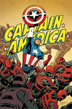 Image: Captain America #695 by Samnee Poster  - Marvel Comics
