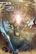Image: Power of the Dark Crystal #8 (subscription cover - Takeda)  [2017] - Boom! Studios