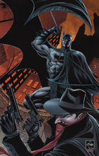 Image: Shadow / Batman #1 (van Sciver virgin incentive cover - 01101) (20 Copy) - Dynamite