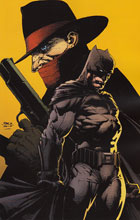 Image: Shadow / Batman #1 (Finch virgin incentive cover - 01121) (40 Copy) - Dynamite