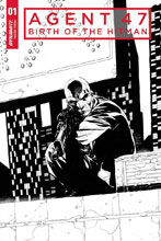 Image: Agent 47: Birth of the Hitman #1 (cover E incentive - Tan B&W) (20 Copy)  [2017] - Dynamite