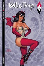 Image: Bettie Page #4 (cover A - Linsner)  [2017] - Dynamite