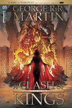Image: George R. R. Martin's A Clash of Kings #5 (cover A - Miller) - Dynamite