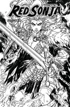 Image: Red Sonja Vol. 04 #10 (cover H incentive - Meyers B&W) (30 Copy)  [2017] - Dynamite