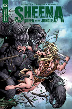 Image: Sheena Queen of the Jungle #2 (cover B - Buchemi) - Dynamite