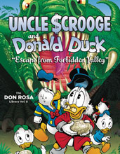 Image: Walt Disney Uncle Scrooge & Donald Duck: Escape From Forbidden Valley - Don Rosa Library Vol. 08: HC  - Fantagraphics Books