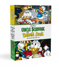Image: Walt Disney Uncle Scrooge and Donald Duck: The Rosa Duck Library Vols. 07 & 08 HC  - Fantagraphics Books