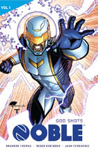 Image: Noble Vol. 01: God Shots SC  - Lion Forge