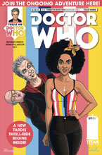 Image: Doctor Who: The 12th Doctor Year Three #9 (cover A - Cadwell) - Titan Comics