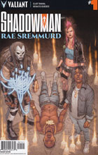 Image: Shadowman / Rae Sremmurd #1 (Ryp incentive cover - 90141) (10 Copy)  [2017] - Valiant Entertainment LLC