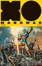 Image: X-O Manowar [2017] #8 (cover C incentive - Interlock Ryp) (20 Copy) - Valiant Entertainment LLC