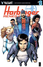 Image: Harbinger: Renegade #8 (cover A - Robertson) - Valiant Entertainment LLC