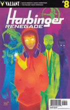 Image: Harbinger: Renegade #8 (cover D incentive - Veregge) (20 Copy)  [2017] - Valiant Entertainment LLC