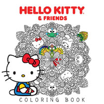 Image Hello Kitty Friends Coloring Book SC