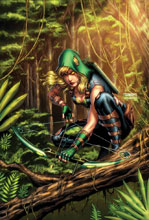 Image: Robyn Hood: The Hunt #4 (cover A - Goh)  [2017] - Zenescope Entertainment Inc